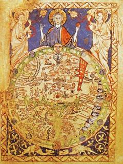 medieval map of Jerusalem
